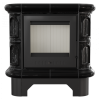 Kachľová piecka WK 440 čierna lesklá -02