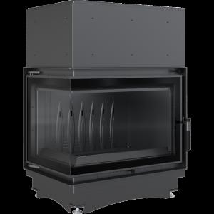 Zuzia ECO 12 kW BS DECO ľavé presklenie -01