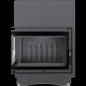 Zuzia ECO 12 kW BS DECO ľavé presklenie -02