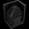 Zuzia ECO 12 kW BS DECO ľavé presklenie -04