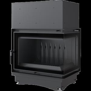 Zuzia ECO 12 kW BS DECO pravé presklenie -03